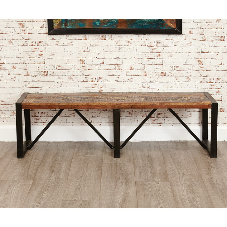 Urban Chic Large Dining Bench - IRF03B - 1