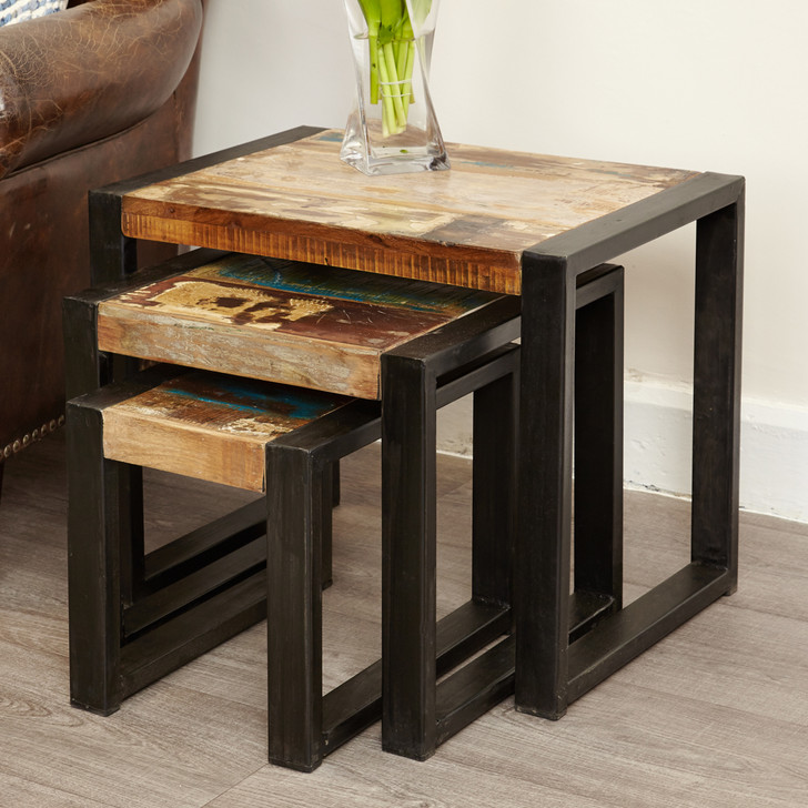 Urban Chic Nest of Tables - IRF08A - 1