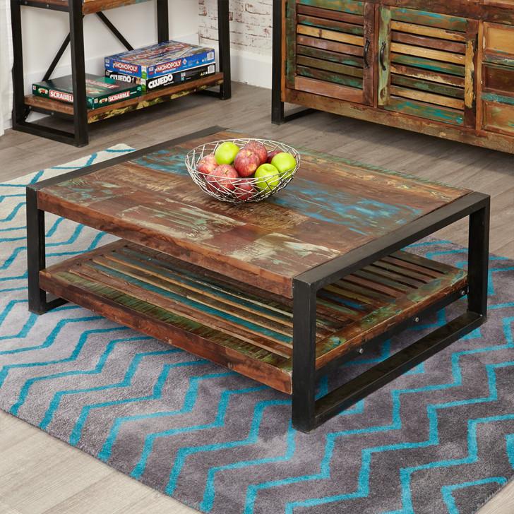 Urban Chic Rectangular Coffee Table - IRF08D - 1