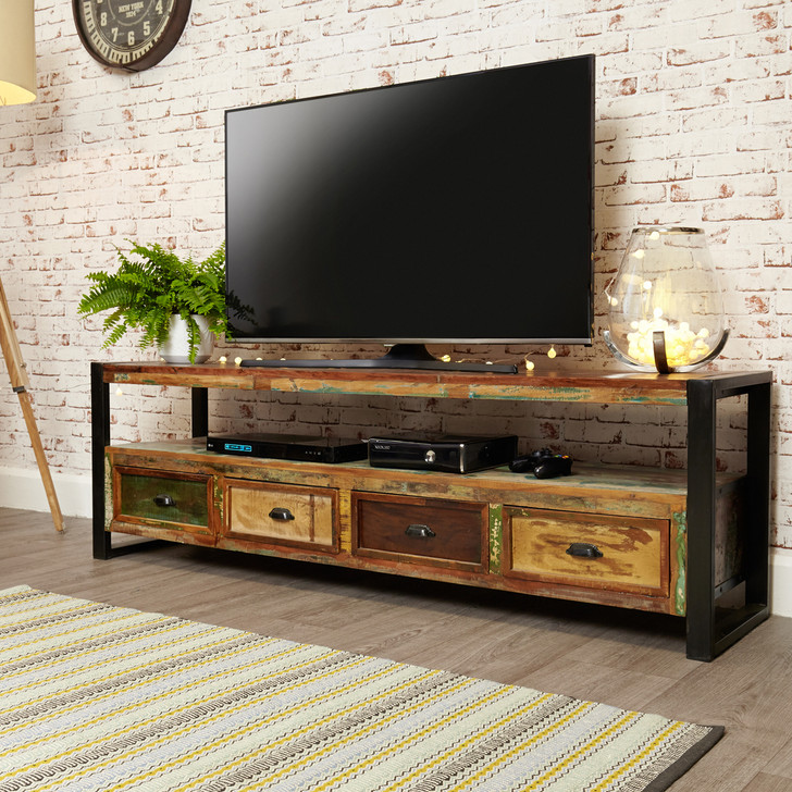 Urban Chic Open Widescreen Television Cabinet - IRF09C - 1