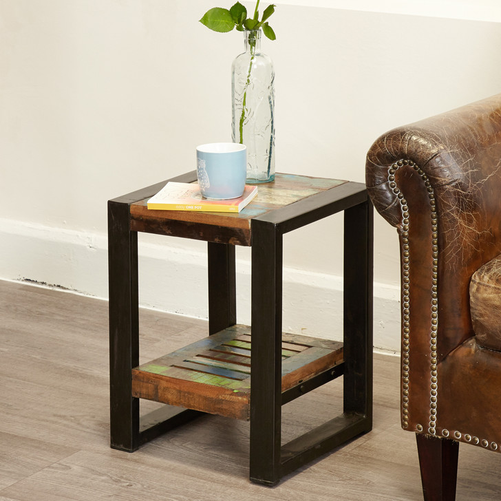 Urban Chic Low Plant Stand / Lamp table - IRF10E - 1