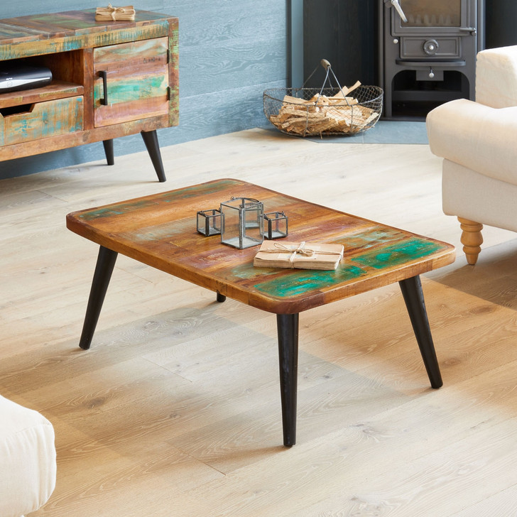 Coastal Chic Coffee Table - IRS08A - 1
