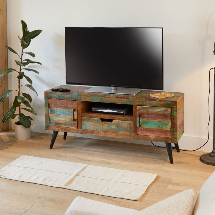 Coastal Chic Widescreen TV Cabinet - IRS09A - 1