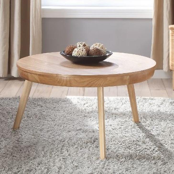 San Francisco Round Ash Coffee Table - JF712-O - 1