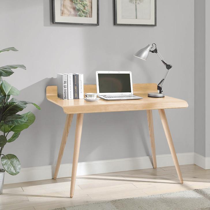 Vienna 90cm V Oak Desk