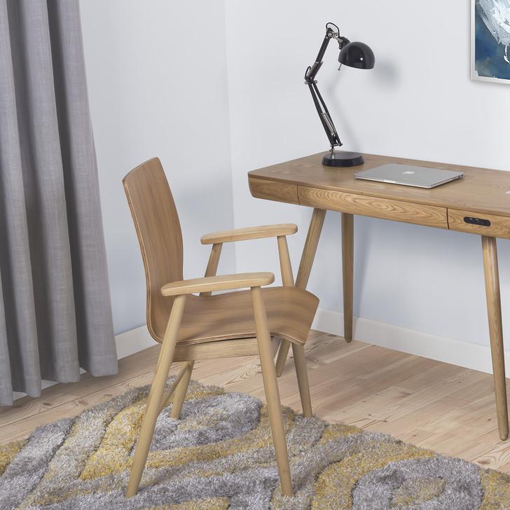 Vienna Oak Office Chair - JF-PC612-OOC - 1