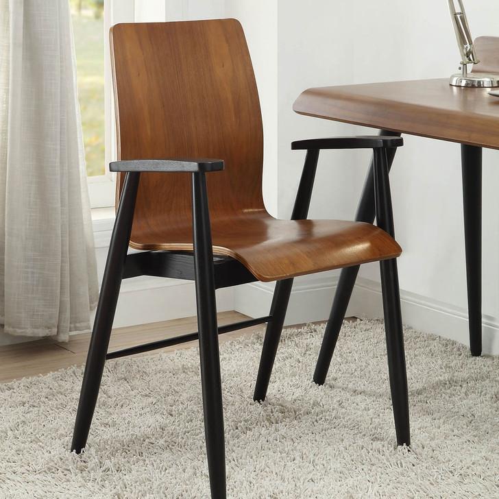 Vienna Walnut Office Chair - JF-PC612-WC - 1