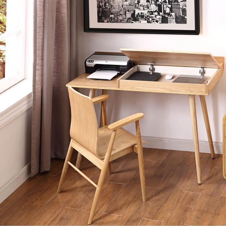San Francisco Oak Desk - JF-PC710 - 1
