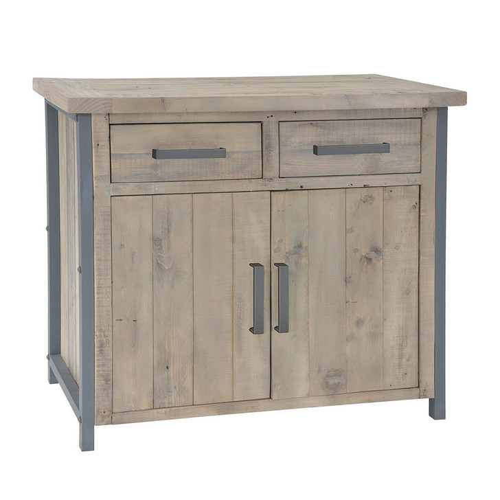 Hulstone Industrial Small Sideboard - LOW06 - 1