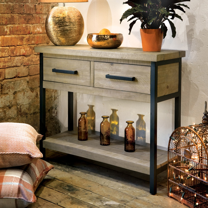 Hulstone Industrial Console Table - LOW08 - 1