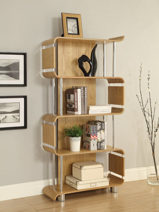 NuHolme Office Oak Bookcase
