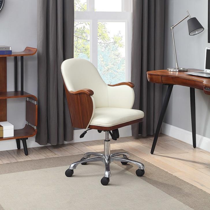 NuHolme Office Walnut Executive Chair