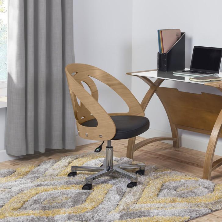 NuHolme Office Oak Chair