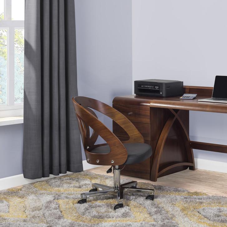NuHolme Office Walnut Chair