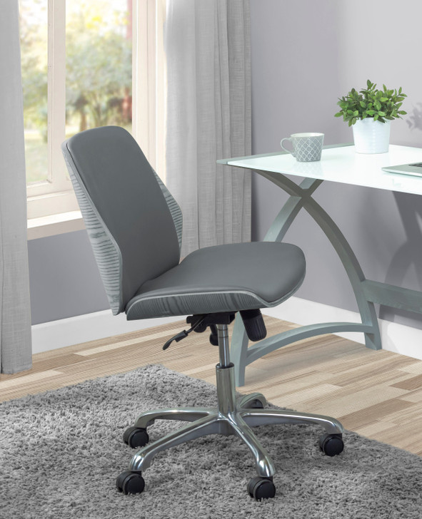 Universal Home Office Chair In Grey - 1
