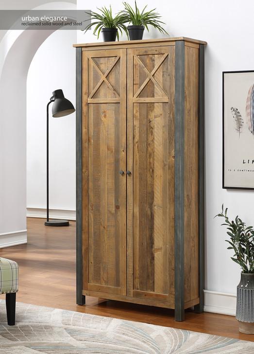 Urban Elegance Reclaimed Living Room Storage Cabinet - VPR01E - 1