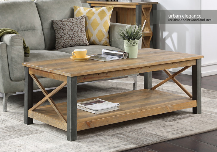 Urban Elegance Reclaimed Extra Large Coffee Table - VPR08C - 1
