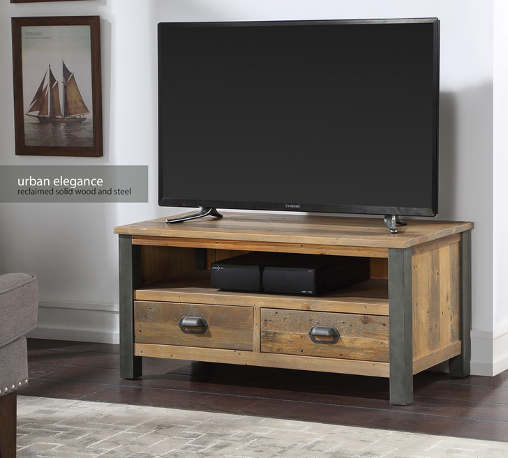 Urban Elegance Reclaimed Widescreen TV Cabinet - VPR09A - 1