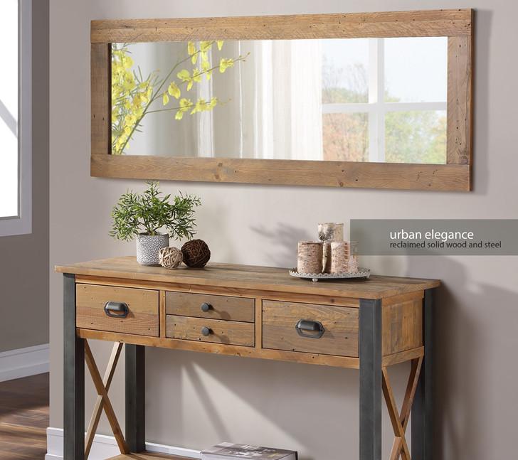 Urban Elegance Reclaimed Extra Long Wall Mirror - VPR16A - 1