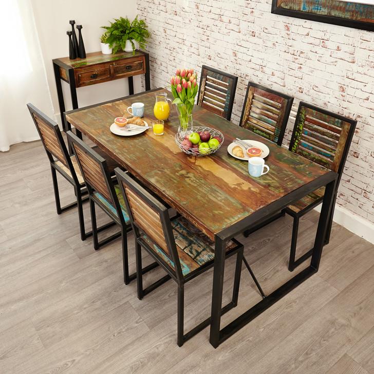 Urban Chic Large Dining Set - WFS-IRF-DF02 - 1
