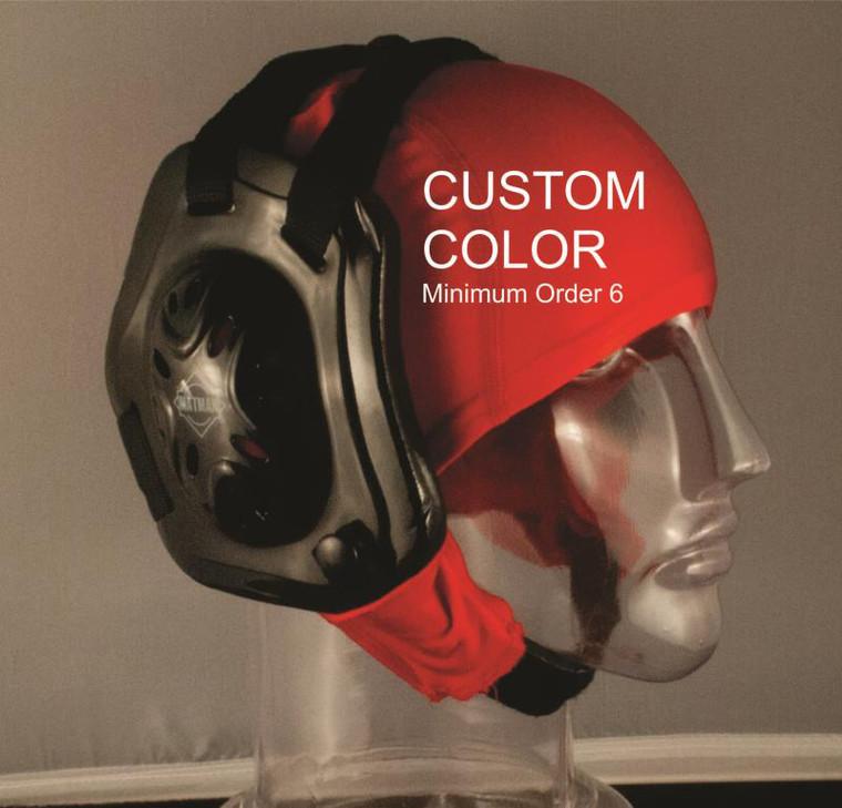 custom color hair cap by Matman