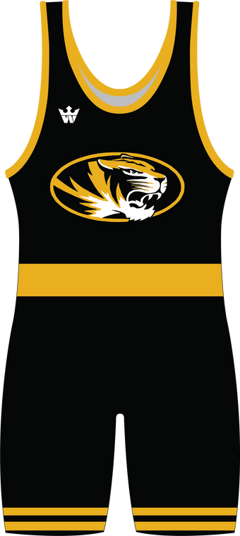 WarriorSport Sublimated Singlet Template 1588 Front