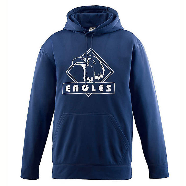 Augusta - Wicking Fleece Hooded Sweatshirt - #5505
