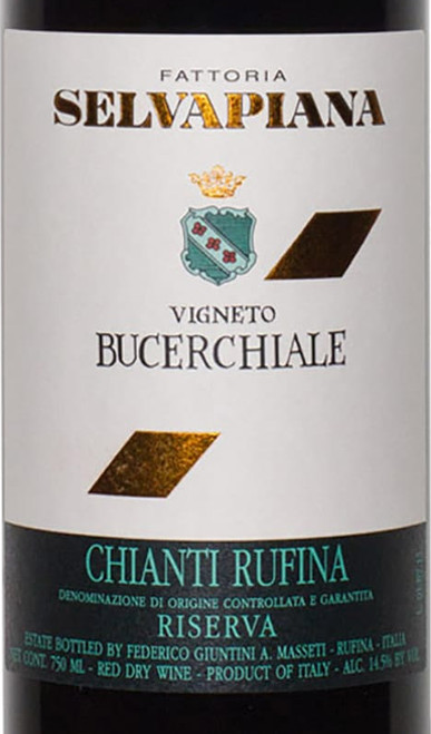 Selvapiana Chianti Rufina Vigneto Bucerchiale Riserva 2016