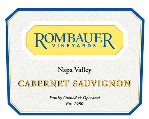 Rombauer Cabernet Sauvignon Napa Valley 2018 375ml