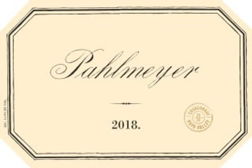 Pahlmeyer Chardonnay Napa Valley 2018