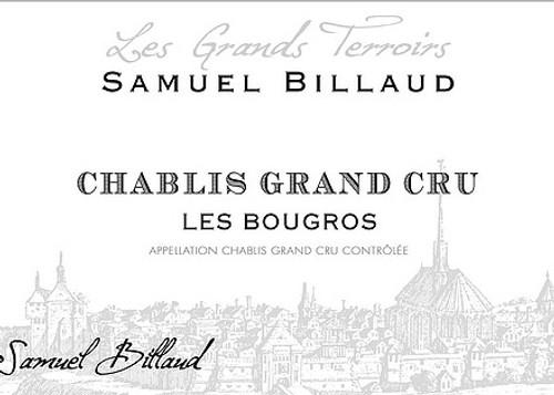 Billaud/Samuel Chablis Grand Cru Bougros 2018