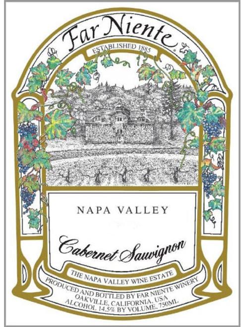 Far Niente Cabernet Sauvignon Napa Valley 2018