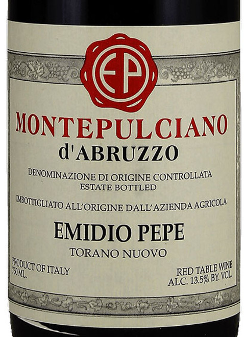 Emidio Pepe Montepulciano d'Abruzzo 2001