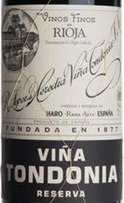 López de Heredia Rioja Viña Tondonia Reserva 2008