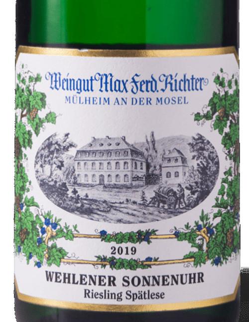 Richter/Max-Ferd. Riesling Spätlese Wehlener Sonnenuhr 2019