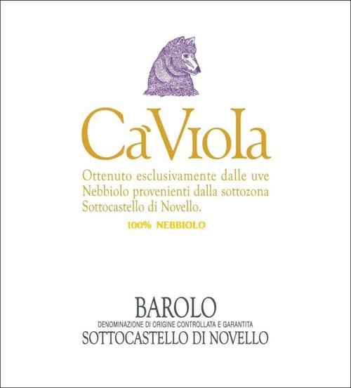 Ca 'Viola Barolo Sottocastello di Novello 2015