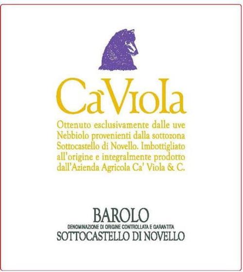 Ca 'Viola Barolo Sottocastello di Novello 2016