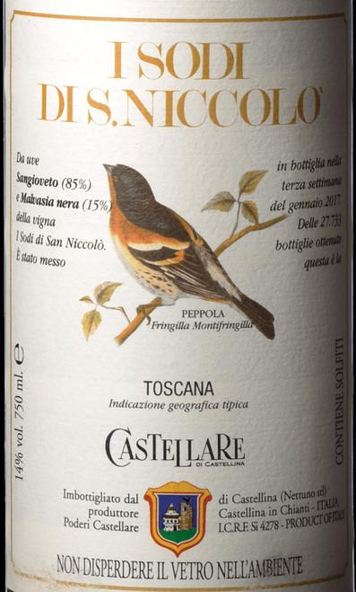 Castellare di Castellina Toscana I Sodi di San Niccolò 2016