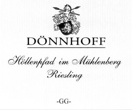Dönnhoff Riesling Höllenpfad im Mühlenberg Grosses Gewächs 2019