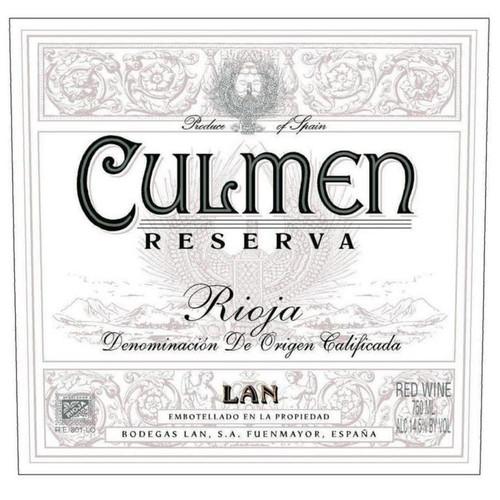 LAN Rioja Culmen Reserva 2015