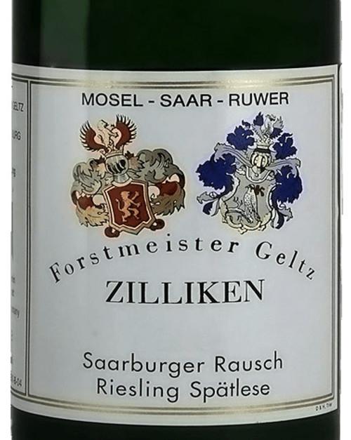 Zilliken Riesling Spätlese Saarburger Rausch 2016
