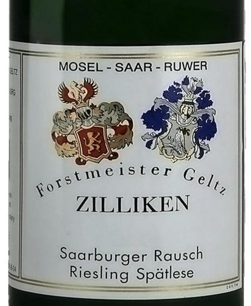 Zilliken Riesling Spätlese Saarburger Rausch 2018