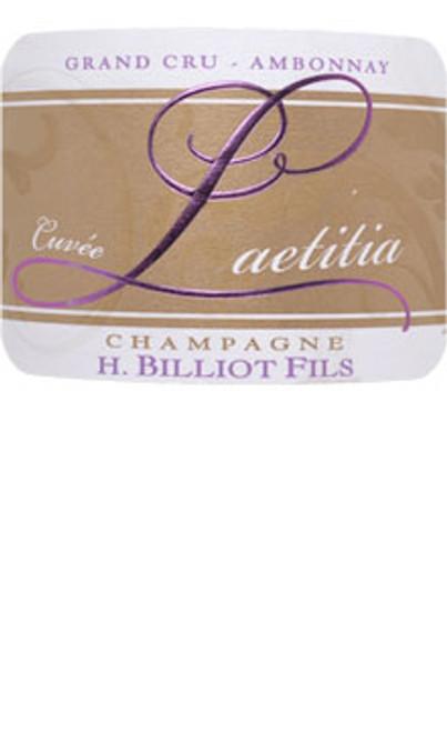 Billiot Brut Champagne Cuvée Laetitia NV