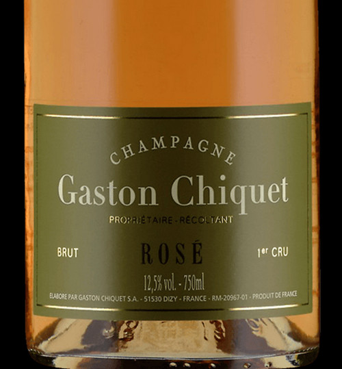 Chiquet/Gaston Brut Rosé Champagne NV