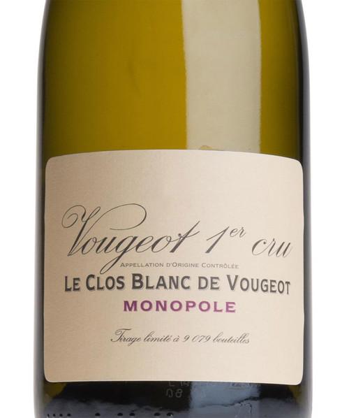 Vougeraie Vougeot 1er cru Le Clos Blanc de Vougeot 2016