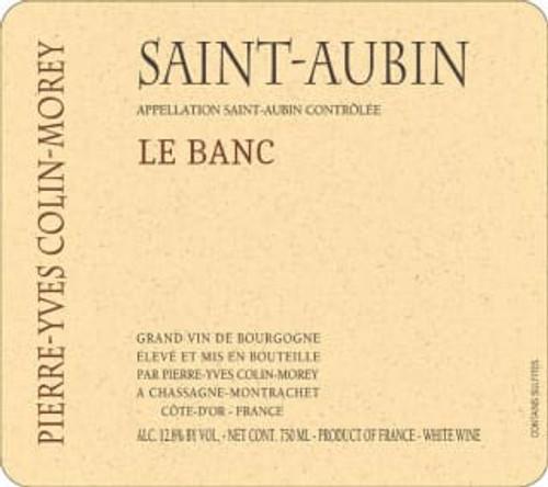 Colin-Morey/Pierre-Yves St-Aubin Blanc Le Banc 2018