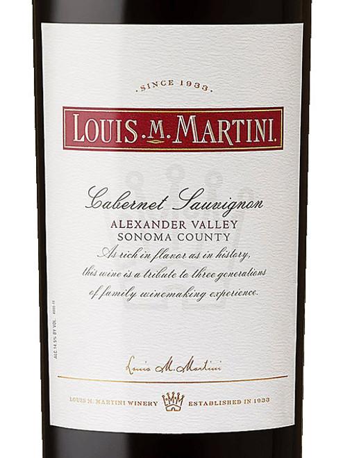 Louis M. Martini Cabernet Sauvignon Alexander Valley 2017