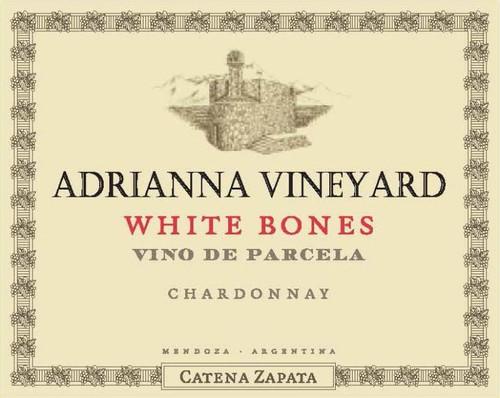 Catena Zapata Chardonnay Mendoza Adrianna Vineyard White Bones 2018