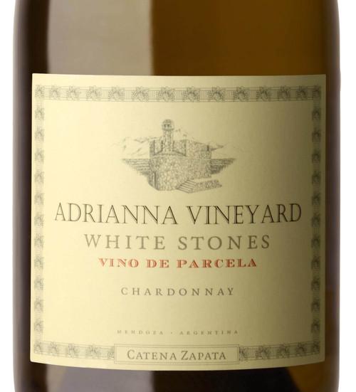 Catena Zapata Chardonnay Uco Valley Adrianna Vyd White Stones 2018