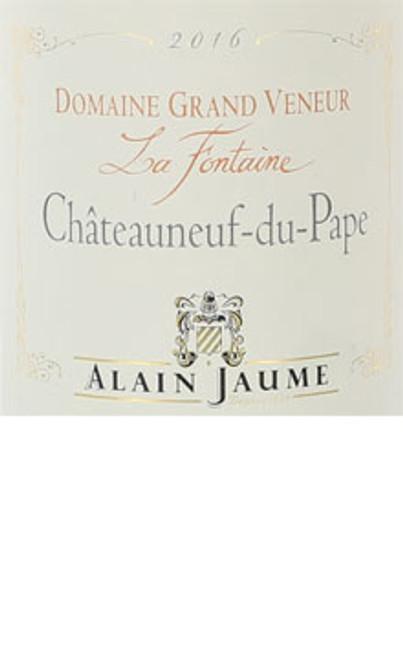 Grand Veneur Châteauneuf-du-Pape Blanc La Fontaine 2016